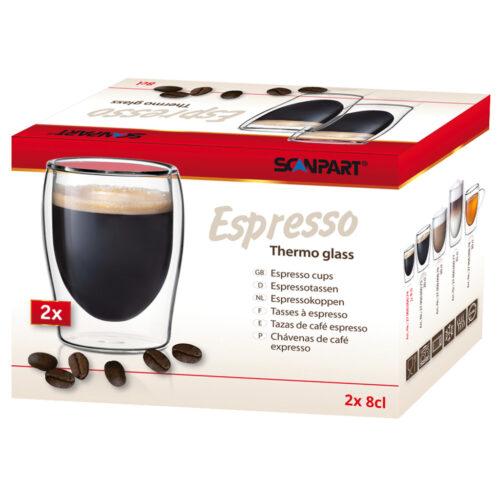 Scanpart 2790000074 Espresso Thermo Glazen 8cl A2
