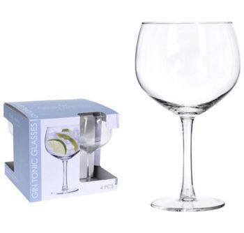 gin tonic glazen