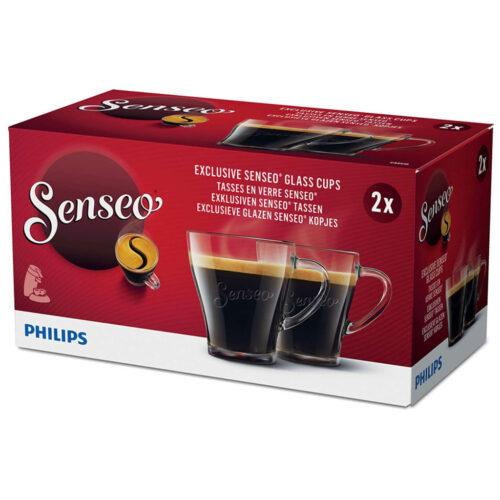 Philips Senseo Glazen 2 Stuks