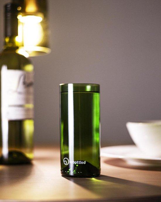 Rebottled longdrink glazen