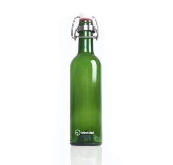 rebottled fles groen