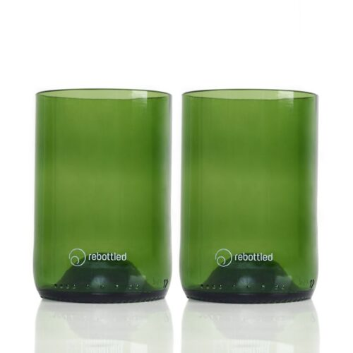 Rebottled glazen groen