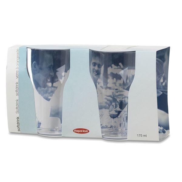 Rosti Mepal Helder Frisdrankglas 200ml 2 Stuks