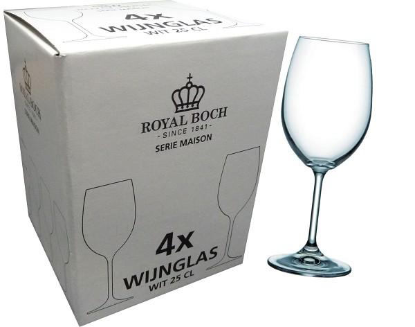 Royal Boch witte wijnglazen