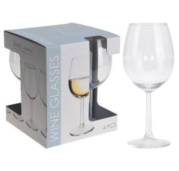 Witte Wijnglazen