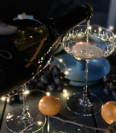 champagneglas-coupe
