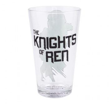 glas Star Wars: The rise of skywalker 12 cm zwart