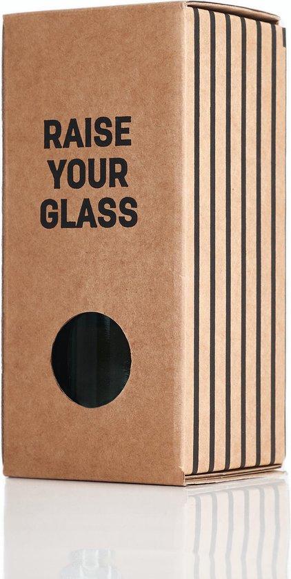 rebottled glas bruin