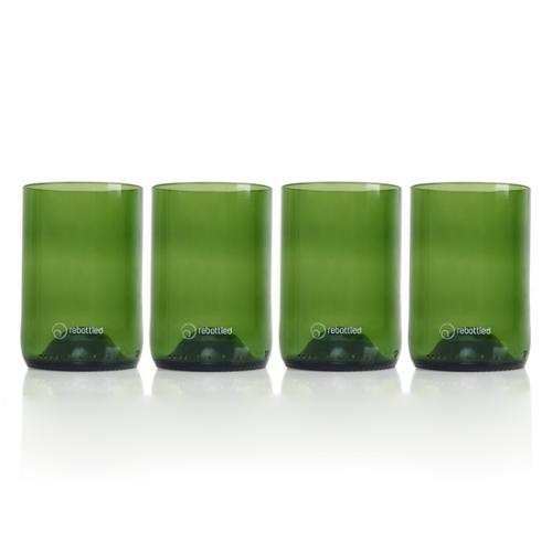 rebottled glazen 4 stuks