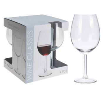 rode wijnglas