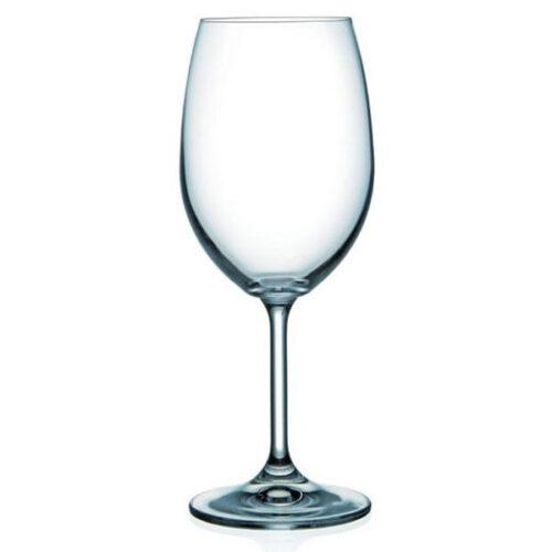 royal boch rode wijnglas