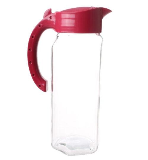 5 liter glas rood 2-delig