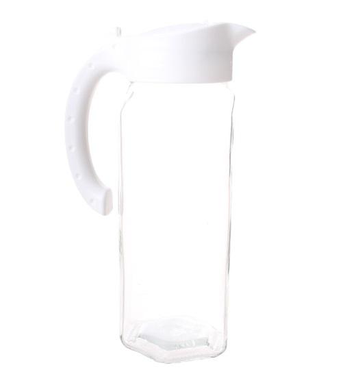 5 liter glas wit 2-delig